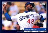 1994 Score #233 Ramon Martinez VG Los Angeles Dodgers