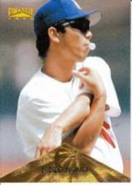 1996 Pinnacle #131 Hideo Nomo VG Los Angeles Dodgers