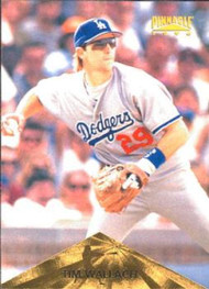 1996 Pinnacle #58 Tim Wallach VG Los Angeles Dodgers