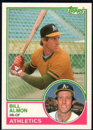 1983 Topps Traded #2T Bill Almon VG Oakland Athletics