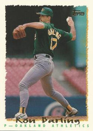 1995 Topps #16 Ron Darling VG  Oakland Athletics