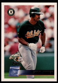 1996 Topps #57 Stan Javier VG Oakland Athletics