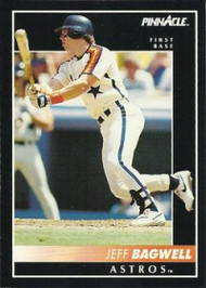 1992 Pinnacle #70 Jeff Bagwell VG Houston Astros
