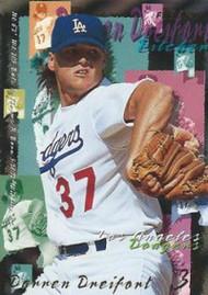 1995 Fleer #539 Darren Dreifort VG Los Angeles Dodgers