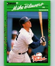 1990 Donruss Rookies #26 Mike Blowers VG New York Yankees