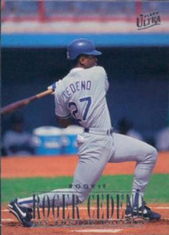 1996 Ultra #494 Roger Cedeno VG Los Angeles Dodgers