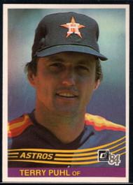 1984 Donruss #476 Terry Puhl VG Houston Astros