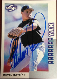 Esteban Yan Autographed 1998 Score Rookie Traded #RT146