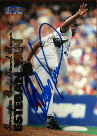 Esteban Yan Autographed 1999 Fleer Tradition #568