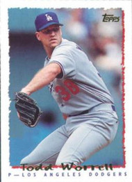 1995 Topps #204 Todd Worrell VG  Los Angeles Dodgers