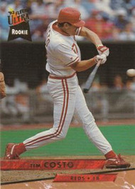 1993 Ultra #326 Tim Costo VG Cincinnati Reds