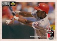 1994 Collector's Choice #116 Willie Greene VG Cincinnati Reds