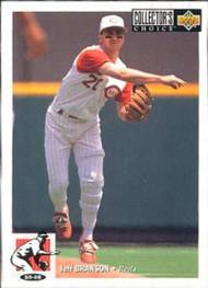 1994 Collector's Choice #64 Jeff Branson VG Cincinnati Reds