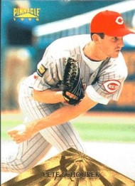 1996 Pinnacle #70 Pete Schourek VG Cincinnati Reds