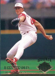 1994 Ultra #179 Jerry Spradlin VG RC Rookie Cincinnati Reds