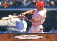 1996 Upper Deck #49 Thomas Howard VG Cincinnati Reds