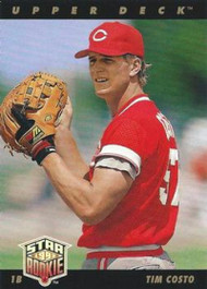 1993 Upper Deck #11 Tim Costo VG Cincinnati Reds