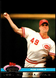 1992 Stadium Club Dome #36 Rob Dibble VG Cincinnati Reds