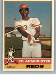 1976 Topps #652 Ed Armbrister VG Cincinnati Reds