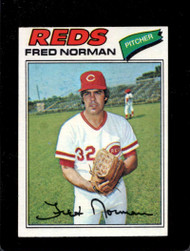 1977 Topps #139 Fred Norman VG Cincinnati Reds