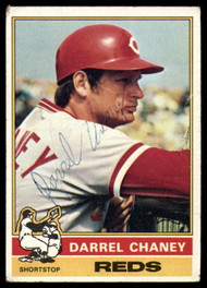 1976 Topps #259 Darrel Chaney VG Cincinnati Reds