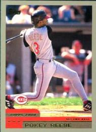 2000 Topps #81 Pokey Reese VG Cincinnati Reds