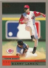 2000 Topps #85 Barry Larkin VG Cincinnati Reds