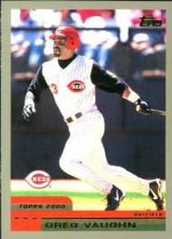 2000 Topps #113 Greg Vaughn VG Cincinnati Reds