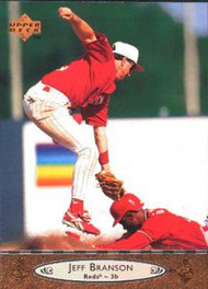 1996 Upper Deck #52 Jeff Branson VG Cincinnati Reds