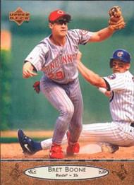 1996 Upper Deck #50 Bret Boone VG Cincinnati Reds