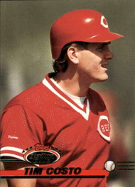 1993 Stadium Club #390 Tim Costo VG Cincinnati Reds