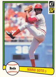 1982 Donruss #103 Mario Soto VG Cincinnati Reds