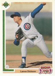 1991 Upper Deck Final Edition #3F Lance Dickson NM-MT Chicago Cubs