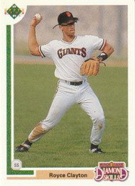 1991 Upper Deck Final Edition #4F Royce Clayton NM-MT San Francisco Giants