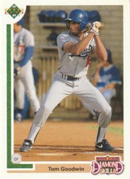 1991 Upper Deck Final Edition #9F Tom Goodwin NM-MT Los Angeles Dodgers
