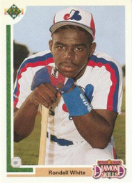 1991 Upper Deck Final Edition #10F Rondell White NM-MT RC Rookie Montreal Expos