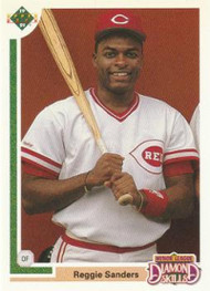 1991 Upper Deck Final Edition #11F Reggie Sanders NM-MT Cincinnati Reds