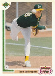 1991 Upper Deck Final Edition #12F Todd Van Poppel NM-MT Oakland Athletics