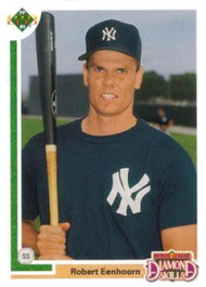1991 Upper Deck Final Edition #16F Robert Eenhoorn NM-MT RC Rookie New York Yankees