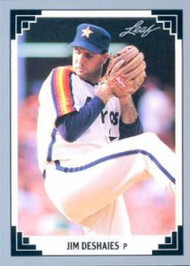 1991 Leaf #49 Jim Deshaies VG Houston Astros