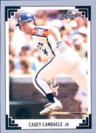 1991 Leaf #114 Casey Candaele VG Houston Astros
