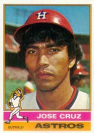 1976 Topps #321 Jose Cruz VG Houston Astros