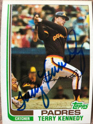 Terry Kennedy Autographed 1982 Topps #65