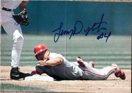 Lenny Dykstra Autographed 1995 Post Cereal #15 ID: 86990