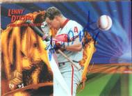 Lenny Dykstra Autographed 1995 Sportflix UC3 #63