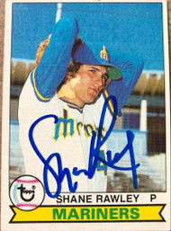 Shane Rawley Autographed 1979 Topps #74 Rookie Card