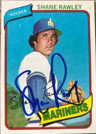 Shane Rawley Autographed 1980 Topps #723