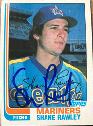 Shane Rawley Autographed 1982 Topps #197