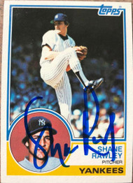 Shane Rawley Autographed 1983 Topps #592
