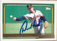 Donnie Hill Autographed 1992 Topps Gold Winner #731